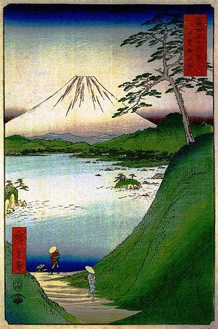 『富士三十六景』甲斐御坂越(出典:wikipedia)