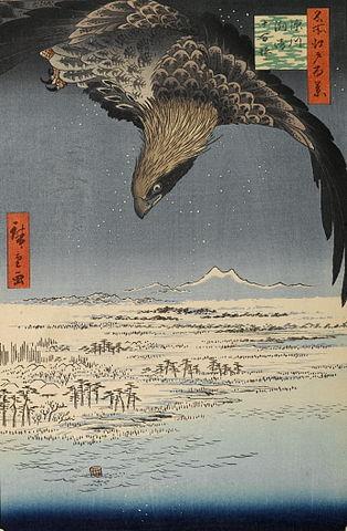『名所江戸百景』深川州崎十万坪(出典:wikipedia)